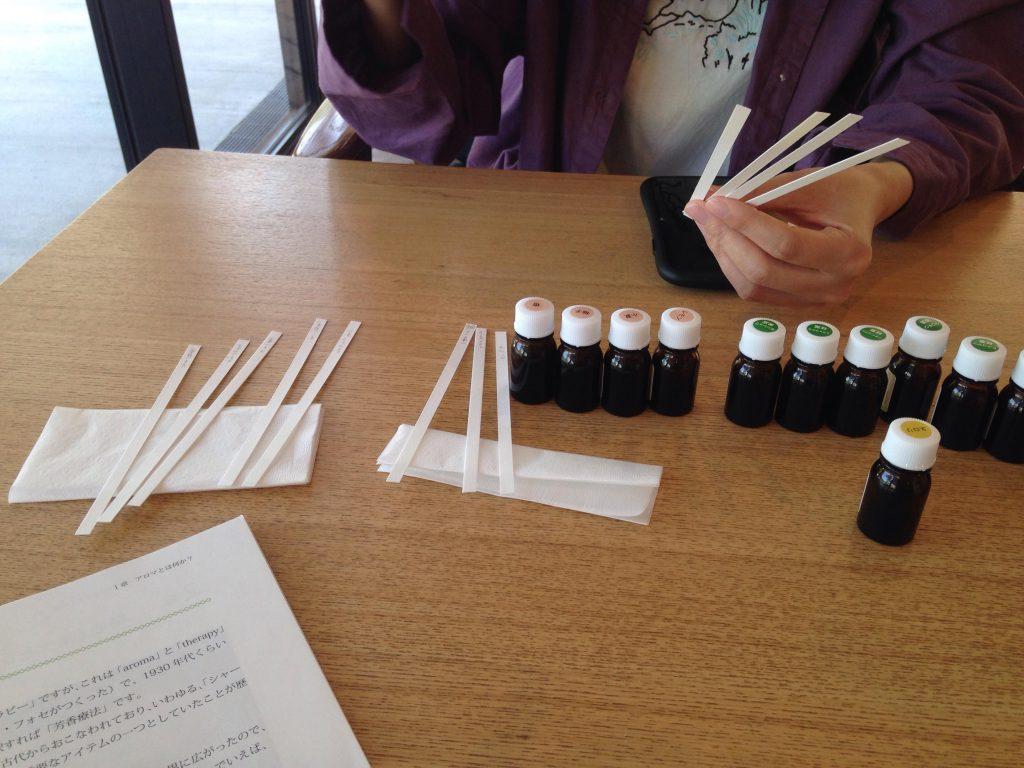 第3回 yuica日本産精油(アロマ)試香会